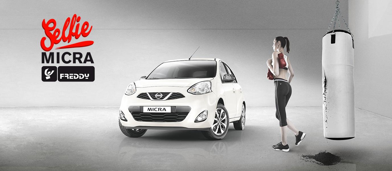 Scatta un selfie e vinci una Micra Freddy con il concorso Nissan!