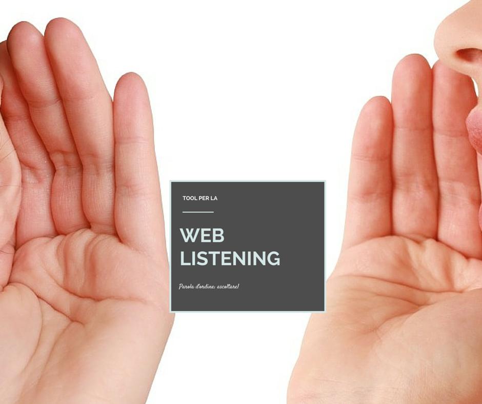 Web listening tool, 6 strumenti da utilizzare