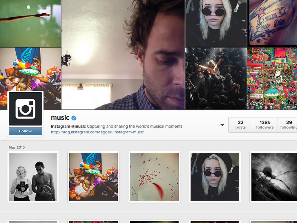 Instagram @music, cambiare senza stravolgersi