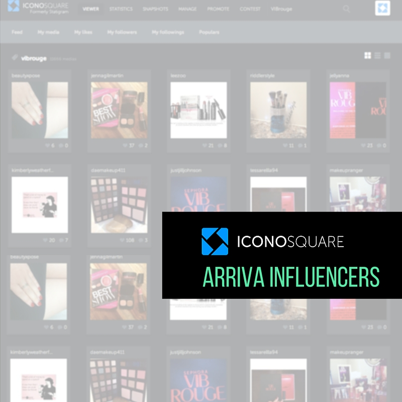 Iconosquare lancia una feature per identificare i maggiori influencer su Instagram
