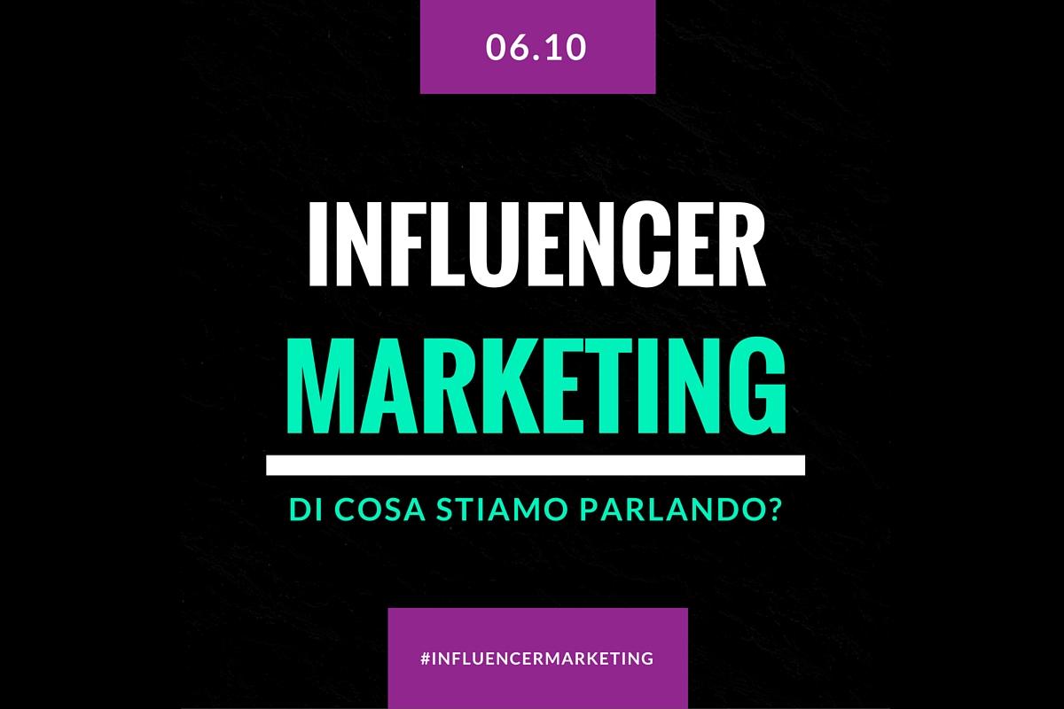 #influencermarketing: di cosa stiamo parlando? [PODCAST]