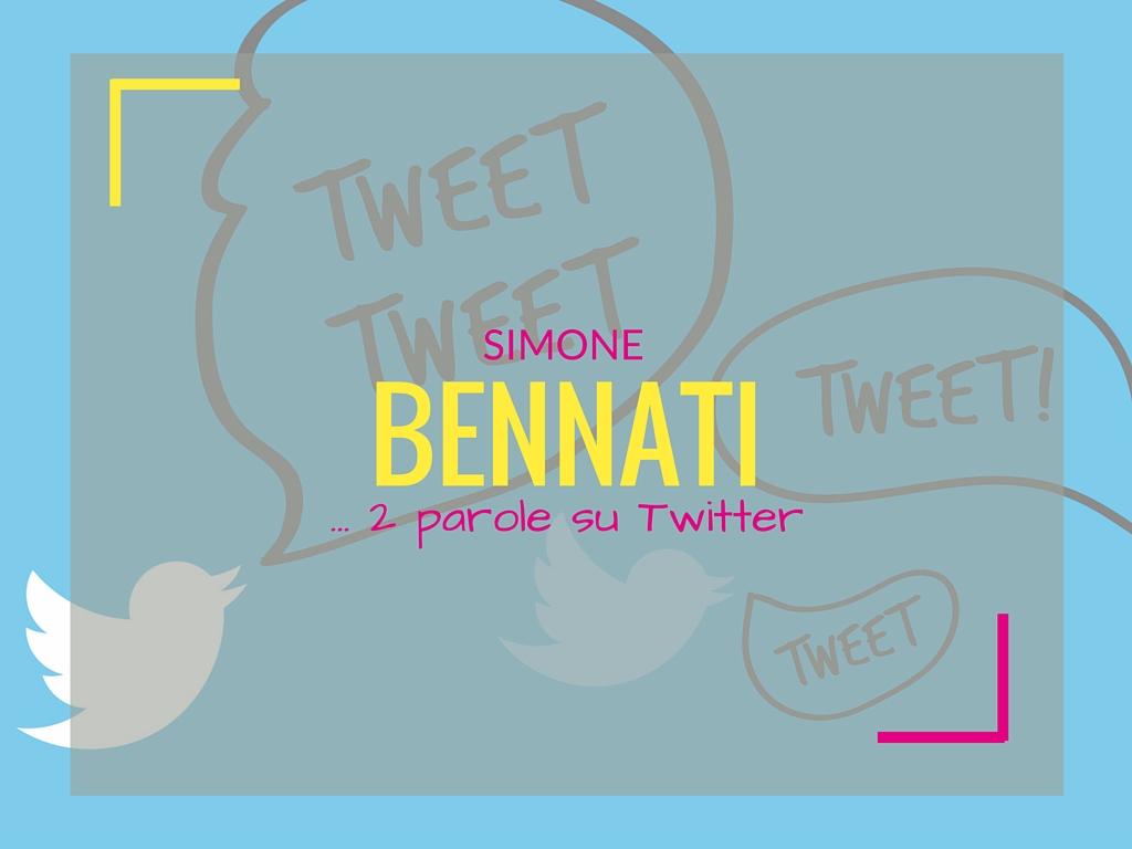 Simone Bennati – 2 parole su Twitter [INTERVISTA]