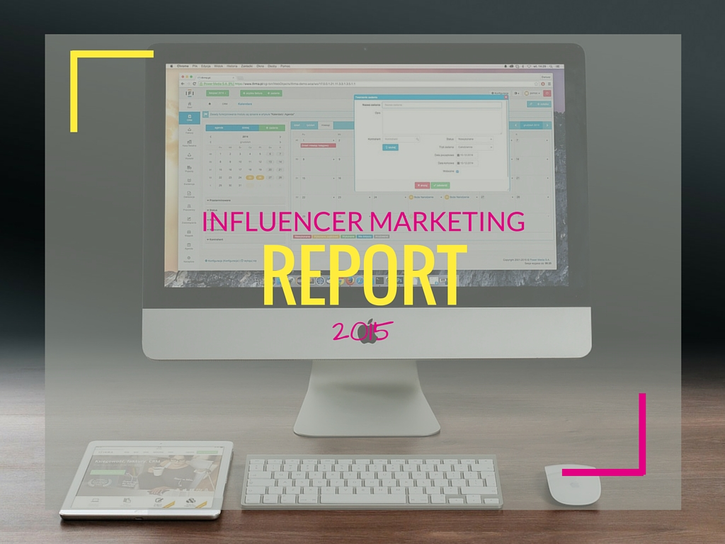 L'influencer marketing nel 2015 [REPORT] - Matteo Pogliani