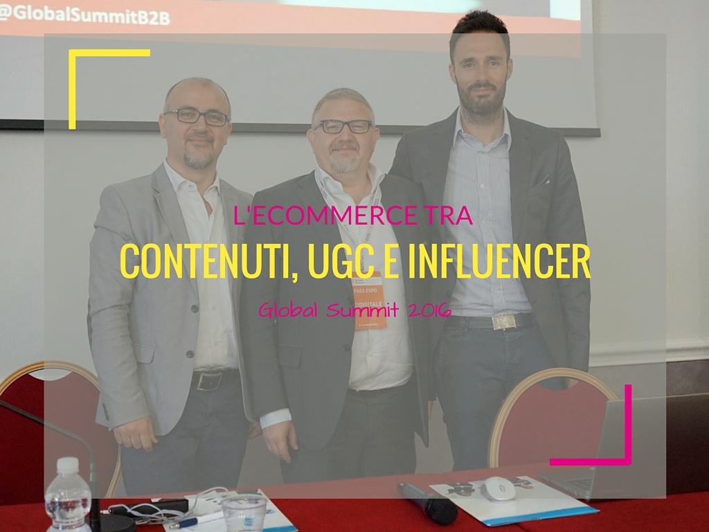 L'Ecommerce tra contenuti, UGC ed influencer