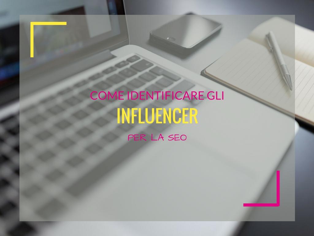 Come identificare gli influencer per la SEO