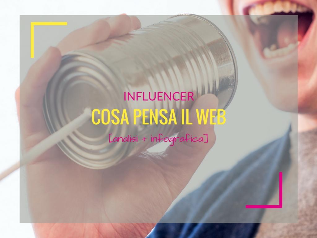 Influencer: ecco cosa pensa il web [ANALISI+INFOGRAFICA]
