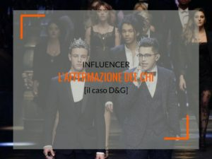 dolce e gabbana influencer marketing
