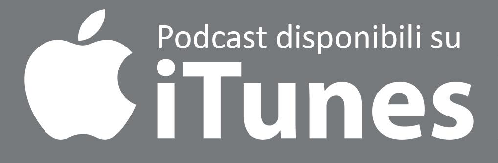 Ascolta i miei podcast su iTunes