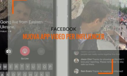 Facebook e influencer marketing: a breve un'app di creazione video dedicata