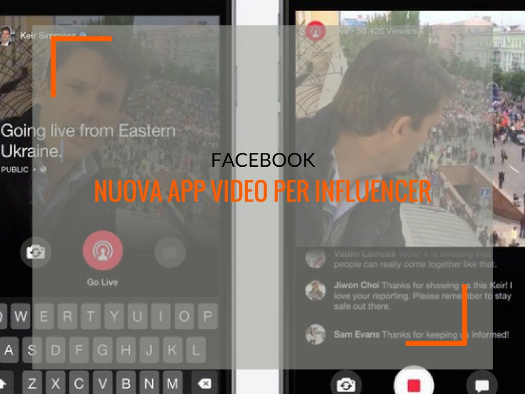 Facebook e influencer marketing: a breve un'app di creazione video dedicata - Matteo Pogliani