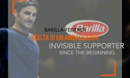 Barilla-Federer, analisi sulla scelta di un ambassador
