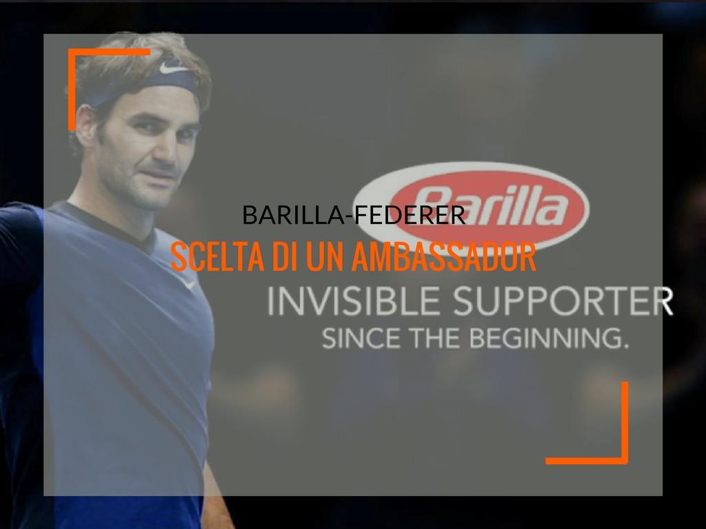 Barilla-Federer, analisi sulla scelta di un ambassador - Matteo Pogliani
