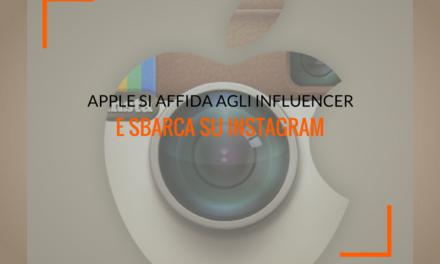 Apple si affida agli influencer per il suo sbarco su Instagram
