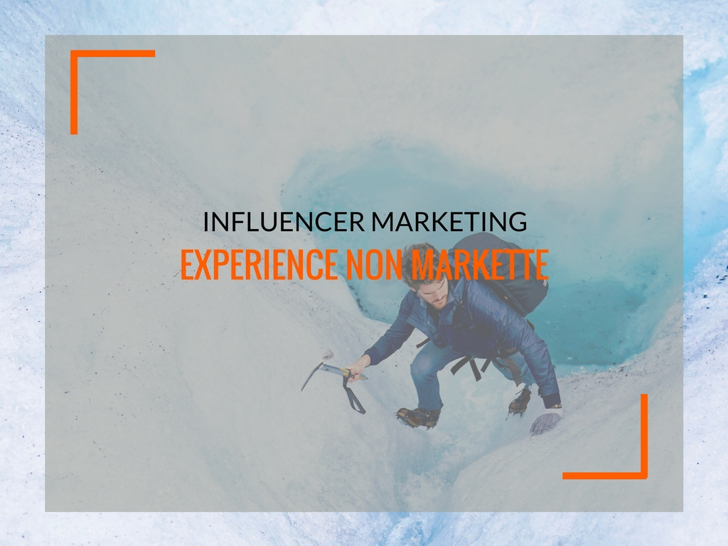 Influencer marketing, experience non markette - Matteo Pogliani