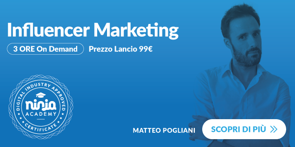 corso influencer marketing ninja academy