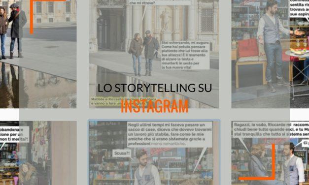 Instagram, il fotoromanzo dello storytelling