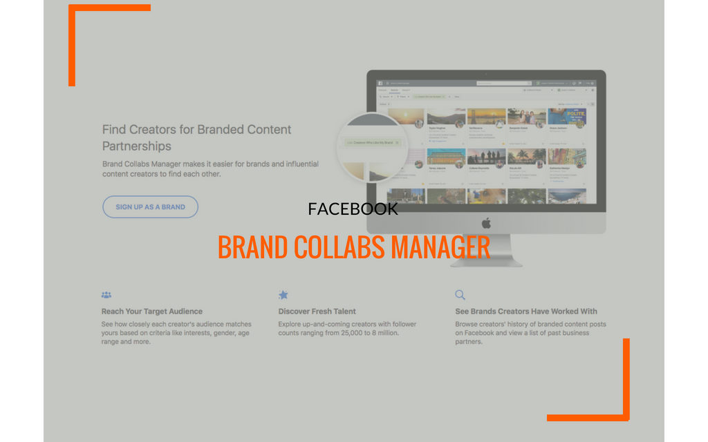 Facebook si lancia nell'influencer marketing con Brand Collabs Manager