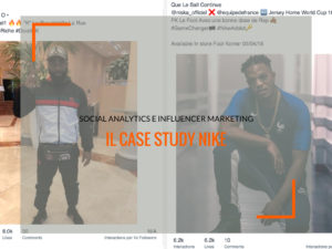 Social Analytics e Influencer Marketing: il case study Nike