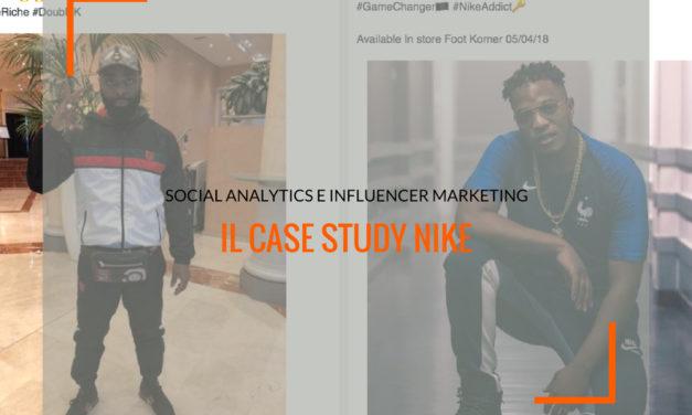 Social Analytics e Influencer Marketing: il case study Nike
