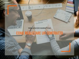 influencer marketing contratto