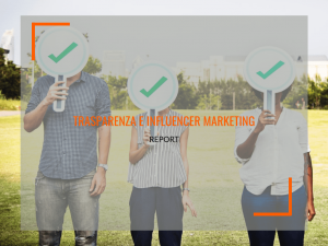 influencer marketing e trasparenza report