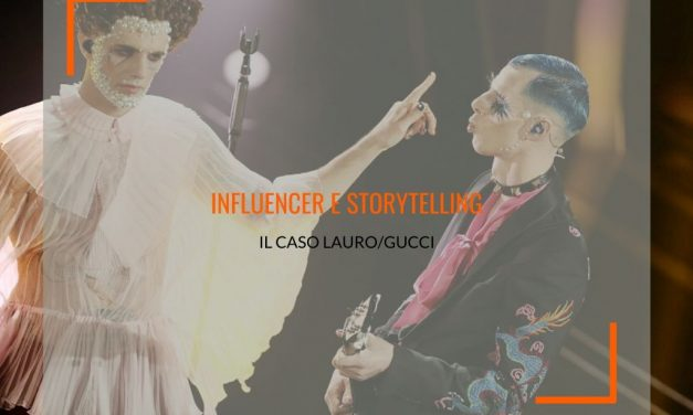 Se l'influencer marketing sublima e diventa brand  storytelling: il caso Achille Lauro/Gucci